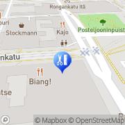 Kartta Luontaisterapia Marinella Tampere, Suomi