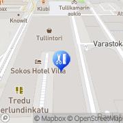 Kartta LuonnonHyvä Instituutti Tampere, Suomi