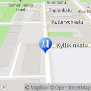 Kartta Parturi-kampaamo Marian Tampere, Suomi