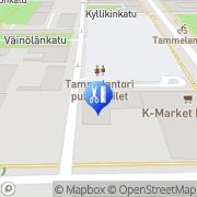 Kartta Parturi-Kampaamo Carawella Tampere, Suomi