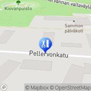 Kartta Parturi-Kampaamo Leena Hohtari Tampere, Suomi