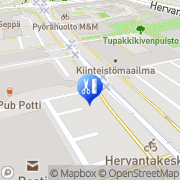 Kartta Kampaamo-Parturi Profil Tampere, Suomi