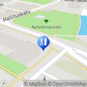 Kartta A& T Hiussalonki Tornio, Suomi