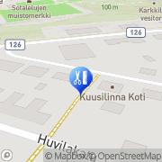 Kartta Salon Katriina Karkkila, Suomi