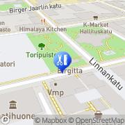 Kartta Parturi-Kampaamo Hillevi Hämeenlinna, Suomi