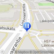 Kartta Kurvila Espoo, Suomi