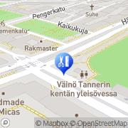 Kartta Ekokampaamo Fa´Milja Helsinki, Suomi
