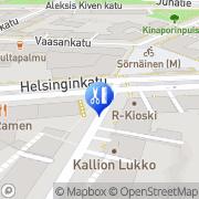 Kartta Parturi-Kampaamo Nax Helsinki, Suomi