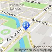 Kartta TeraPia Oulu, Suomi