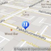 Kartta Parturi-Kampaamo Ponnari Oy Oulu, Suomi