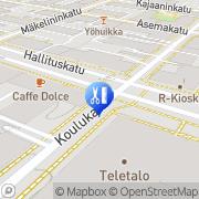 Kartta Parturi-Kampaamo Elektra Oulu, Suomi