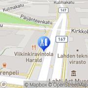 Kartta Ahonen Ritva Inkeri Lahti, Suomi