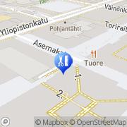 Kartta Make Up Center IMC Oy Jyväskylä, Suomi