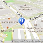 Kartta Kauppinen Päivi H. Tmi Viitasaari, Suomi