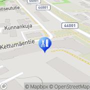 Kartta Kampaamo Melto Marita Kuusankoski, Suomi
