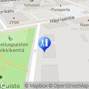 Kartta Hermoratahierojamestari Kähkönen Merja Pieksämäki, Suomi