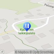 Kartta Kauneushoitola Hyvän Olon Hoitola Tuulia Käärmelahti, Suomi