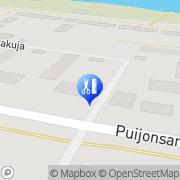Kartta Parturi-Kampaamo Elli Kuopio, Suomi