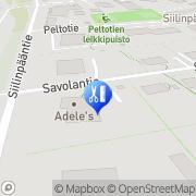 Kartta Parturi-kampaamo SavoX Siilinjärvi, Suomi