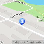 Kartta Kampaamo Salon Henna Varkaus, Suomi