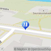 Kartta Hiuspiste Karvonen Pirjo Nurmes, Suomi