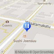 Kartta Liimatta Sari Joensuu, Suomi