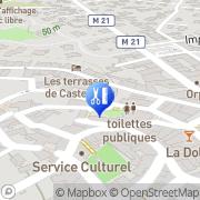 Carte de Espace Sybille Castelnau-le-Lez, France