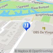 Kaart Ambulante Pedicure Yvonne Meijers Alkmaar, Nederland
