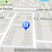 Kaart Chokdee Massage Alkmaar, Nederland