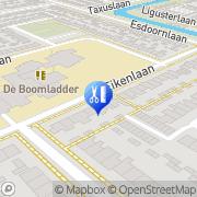 Kaart Vos Schoonheidssalon Bep de Heerhugowaard, Nederland