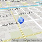 Kaart Dermabelle Zevenhoven, Nederland