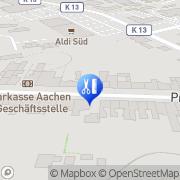 Karte EHS Integral GmbH Stolberg, Deutschland