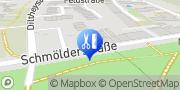 Karte Mobile Gesundheit Heide Brakel Mönchengladbach, Deutschland