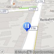 Karte Jessica Nails & More Berger Mönchengladbach, Deutschland
