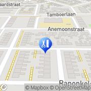 Kaart Pedicure/Manicure Dieneke Hoogeveen, Nederland