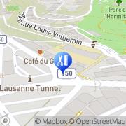 Carte de Kollep Valérie Lausanne, Suisse