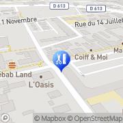 Carte de Coiff et Moi Sochaux, France