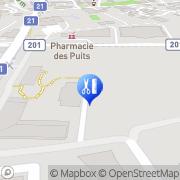 Karte Douce Heure Espace massage Collombey, Schweiz