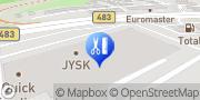 Karte SUNPOINT Solarium & WELLMAXX Bodyforming Wuppertal, Deutschland