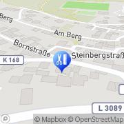 Karte Haberditzl, HeribertGebrauchtwagenhandel und Werkstatt Rabenau, Deutschland