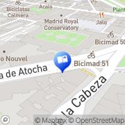 Map La Central Madrid, Spain