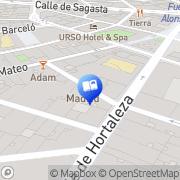 Map Democrazy Madrid, Spain