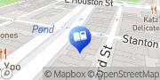Map Bluestockings New York, United States