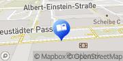 Karte Thalia Halle-Neustadt - Centrum Neustadt Halle (Saale), Deutschland