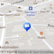 Kort GAD Nørreport København, Danmark