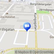 Karta Bokförlaget Nya Doxa Nora, Sverige