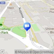 Karte WU Wien, Österreich
