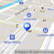 Karte Thalia Buch & Medien Wien, Österreich
