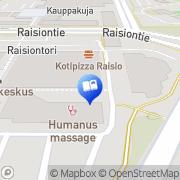 Kartta Raision Info Toimistotukku Raisio, Suomi