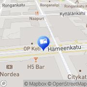 Kartta Akateeminen Kirjakauppa Tampere, Suomi